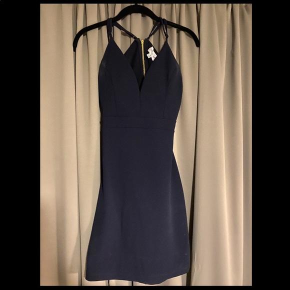 Emerald Sundae Dresses & Skirts - Emeral Sundae Navy Dress
